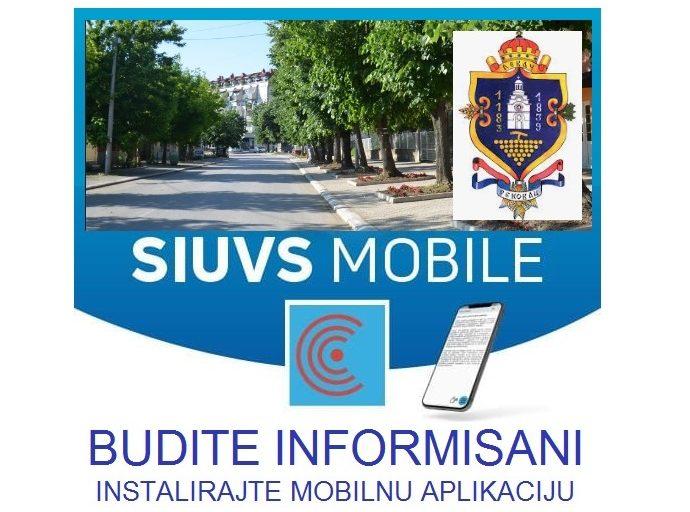 SIUVS Мobile апликација - пратите систем свеобухватног упозорења